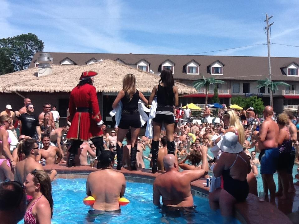 Put In Bay Pool Bars Blue Marlin